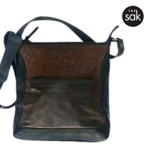 EUC The Sak Leather Cross Body Handbag